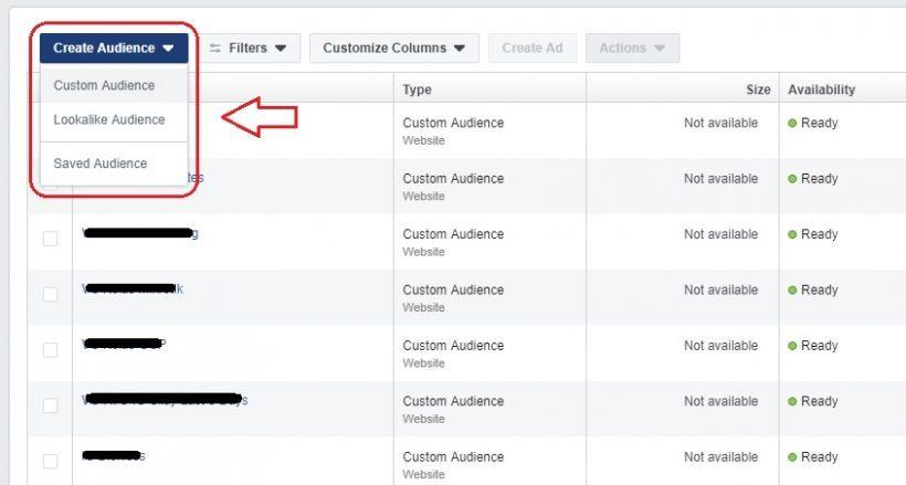 3 Jenis Audience FB Ads
