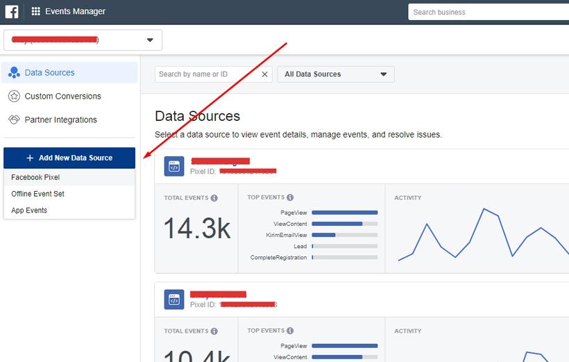 Cara memasang pixel Facebook terbaru