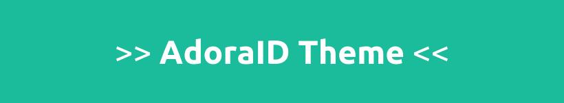 Tema WordPress AdoraID