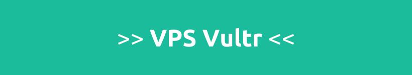 Virtual private server Vultr